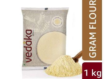 Flat 55% off on Amazon Brand - Vedaka Gram Flour (100% Chana Besan) 1kg at Rs. 90
